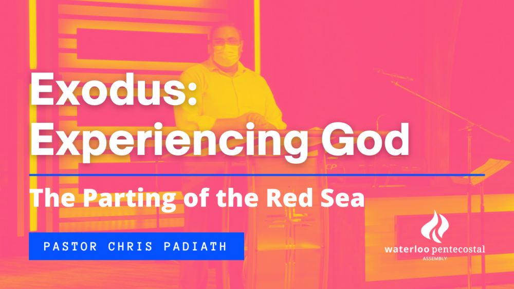 The Parting of the Red Sea Image