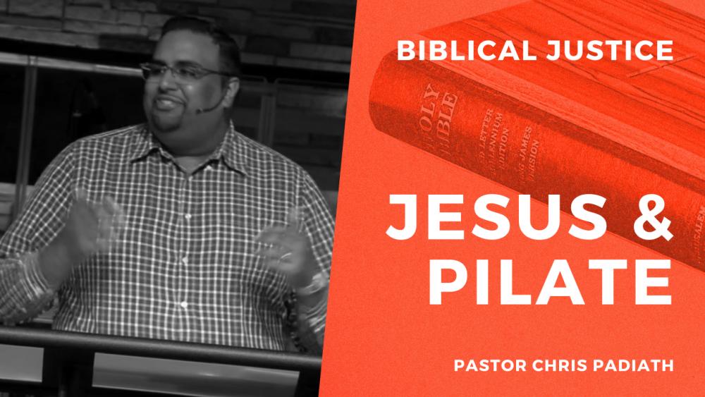 Jesus & Pilate
